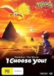 Pokemon The Movie: I Choose You! on DVD