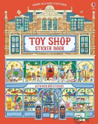 Doll's House Sticker Book Toyshop by Struan Reid image