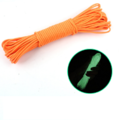 Outdoor Luminous Glow Camping Tent Rope 20M - Orange