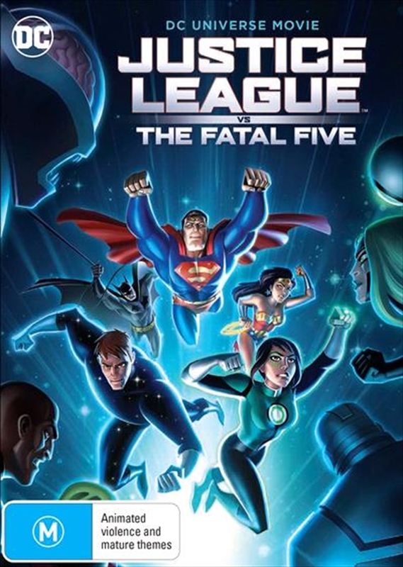 Justice League: Fatal Five on DVD
