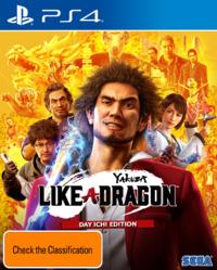 Yakuza: Like a Dragon Day Ichi Steelbook Edition for PS4