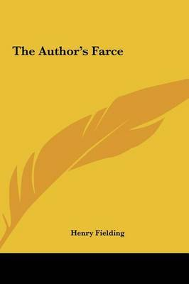 The Author's Farce by Henry Fielding image