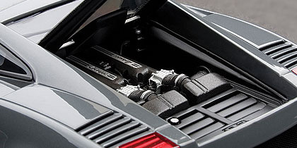 AUTOart Lamborghini Gallardo Superleggera - Grigio Telesto 1:18 Diecast Model - Metallic Grey image