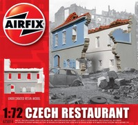 Airfix Czech Restaurant 1/72 Model Kit