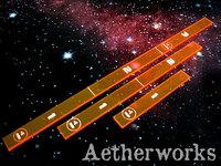 Aetherworks Range Ruler - Flourescent Red (3 Pack)