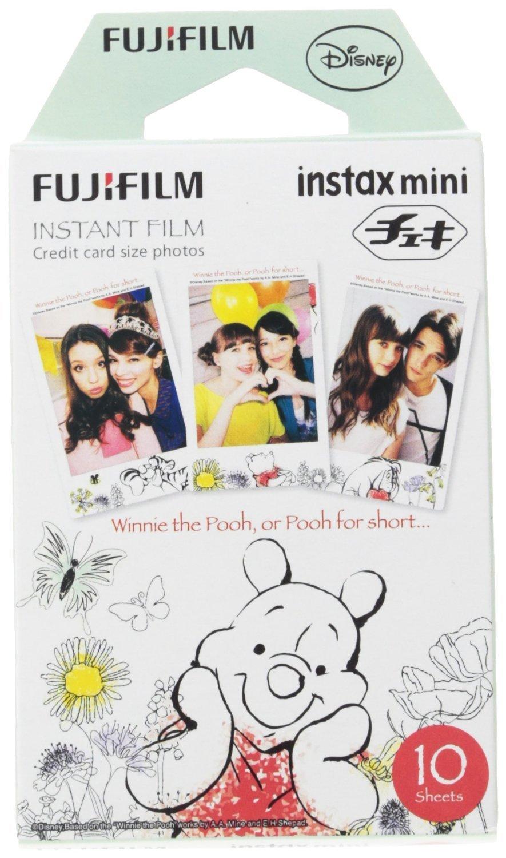 Fujifilm Instax Mini Film 10 Pack - Winnie the Pooh image