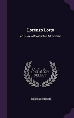 Lorenzo Lotto by Bernard Berenson image