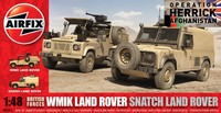 Airfix 1:48 BF WMIK Land Rover/Snatch - Model Kit