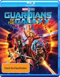 Guardians of the Galaxy 2 on Blu-ray