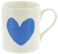 McLaggan Smith Mug (Large Blue Heart) image