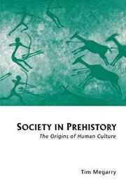 Society in Prehistory by Tim Megarry image