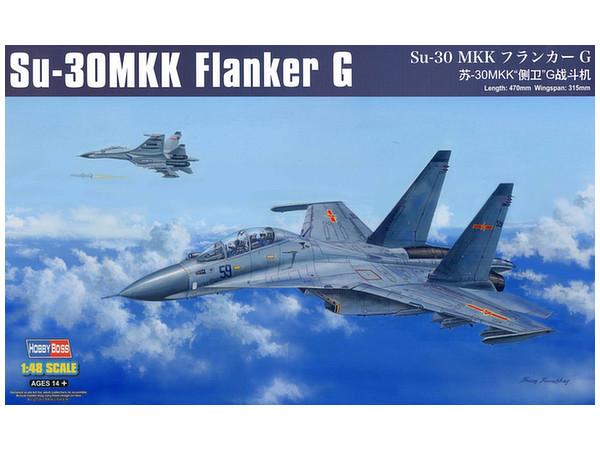 Hobby Boss: 1/48 Su-30 MMK Flanker G - Model Kit