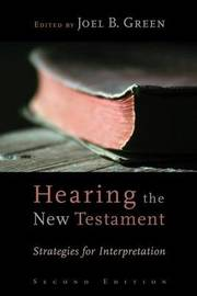 Hearing the New Testament image