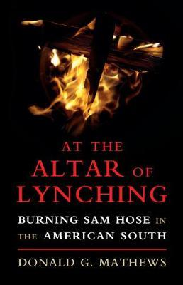 At the Altar of Lynching by Donald G Mathews