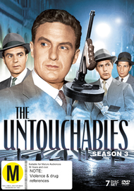 The Untouchables Season 3 on DVD