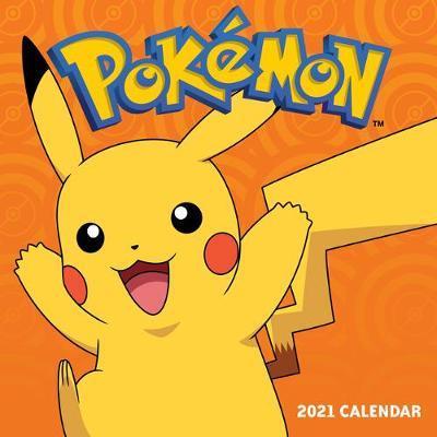 Pokemon 2021 Wall Calendar by Pokemon