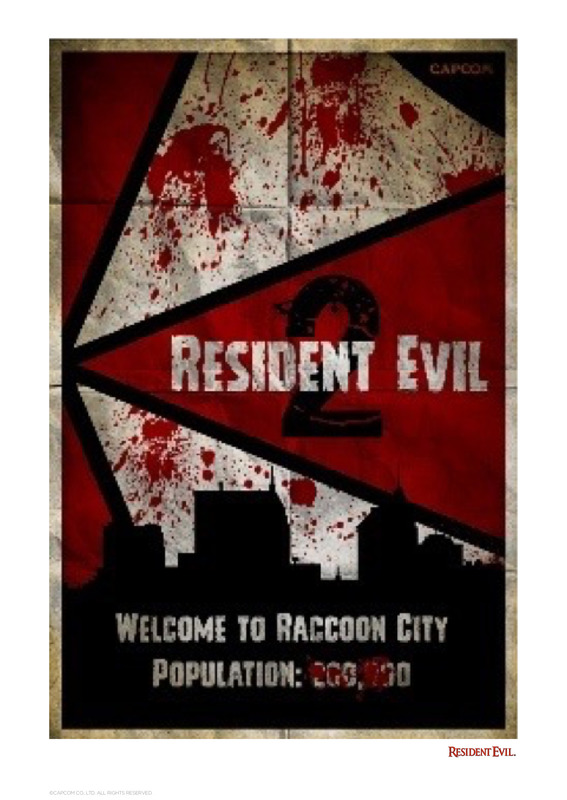 Resident Evil: 2 - Premium Art Print - Raccoon City