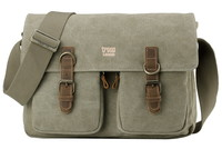 Troop London: Classic Satchel Bag - Khaki