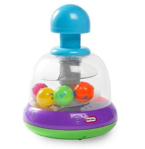 Little Tikes Light & Sound Spinning Top - Purple image