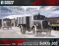 Rubicon 1/56 German SdKfz 305 3-ton 4x2 Cargo Truck