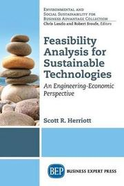Feasibility Analysis for Sustainable Technologies by Scott Herriott