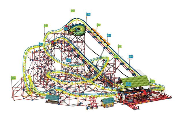 K'NEX Son of Serpent Roller Coaster