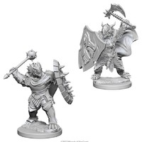 D&D Nolzur's Marvelous: Unpainted Miniatures - Dragonborn Male Paladin