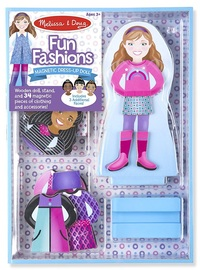Melissa & Doug: Magnetic Dressup - Fun Fashions