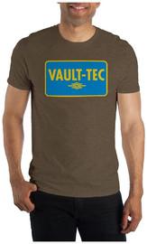 Fallout: Vault-Tech - Men's T-Shirt (Small)