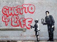 Urban Art Graffiti: 1,000 Piece Puzzle - Ghetto 4 Life