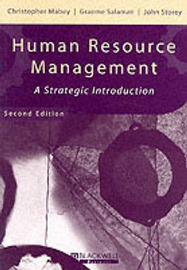Human Resource Management by Christopher Mabey
