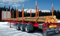 Italeri Timber Trailer - 1:24 Model Kit image