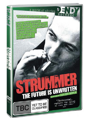 Joe Strummer - The Future is Unwritten on DVD