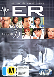E.R. - The Complete 7th Season (6 Disc Set) on DVD image