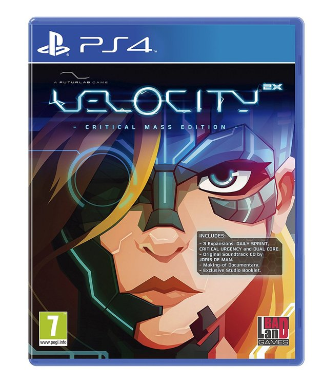Velocity 2X Critical Mass Edition for PS4