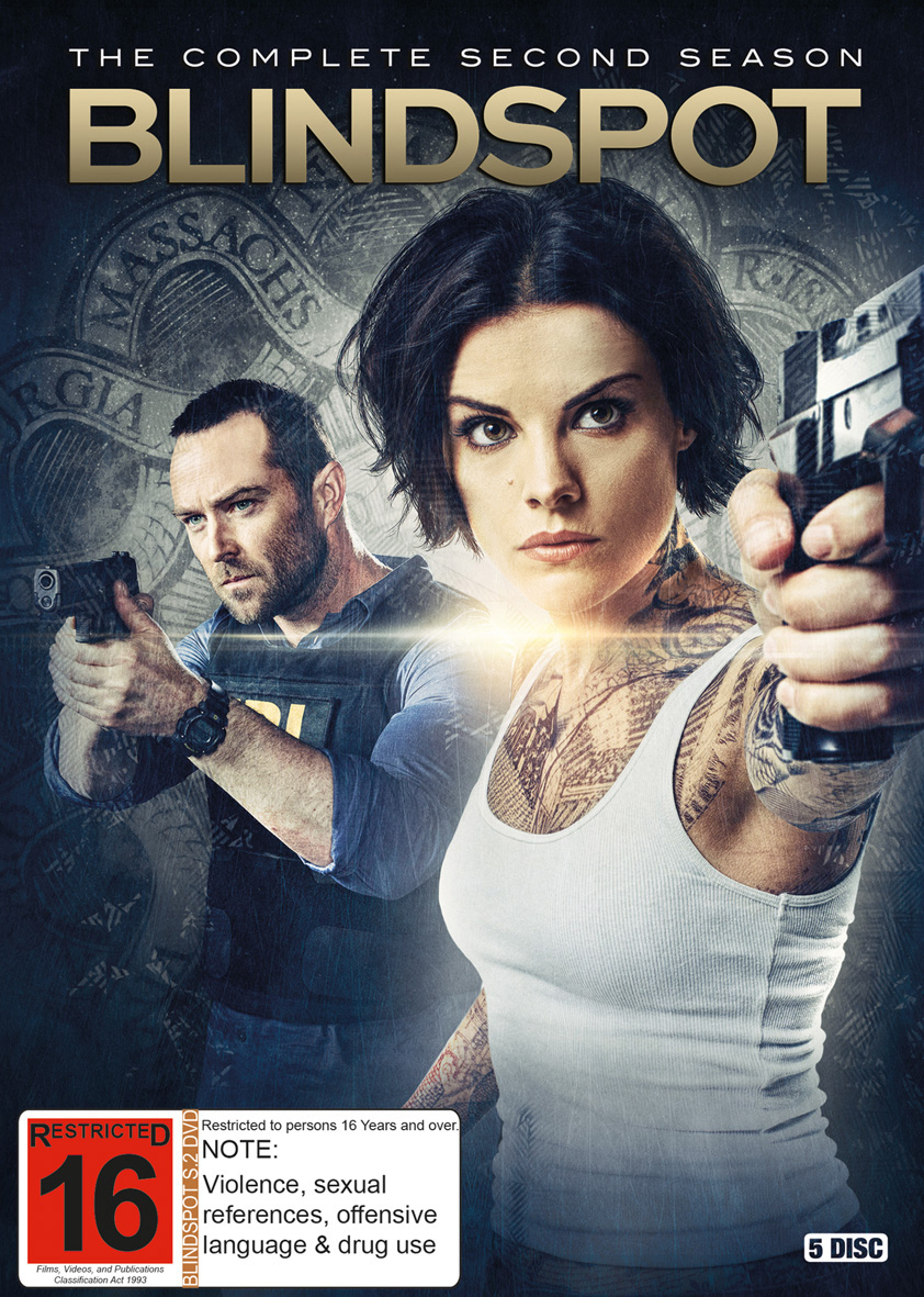 Blindspot - Season 2 on DVD image