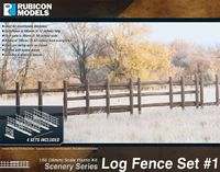 Rubicon 1/56 Log Fence Set
