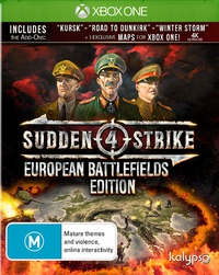 Sudden Strike 4: European Battlefields Edition for Xbox One
