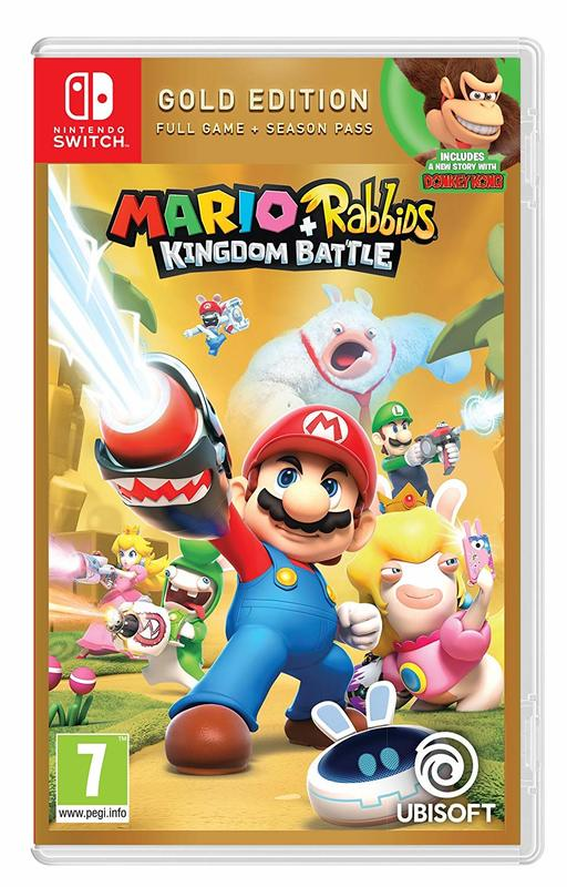 Mario + Rabbids: Kingdom Battle Gold Edition for Switch