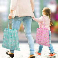 IS GIFT: Foldable Shopper - Cute Unicorns