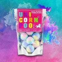 Unicorn Poo Bath Bombs image