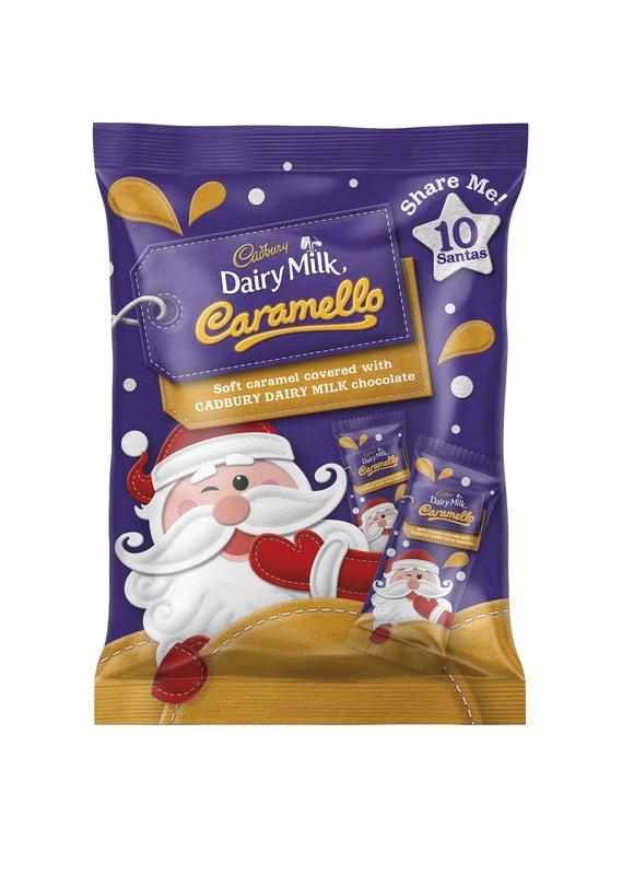 Cadbury Caramello Santa Sharepack (150g)