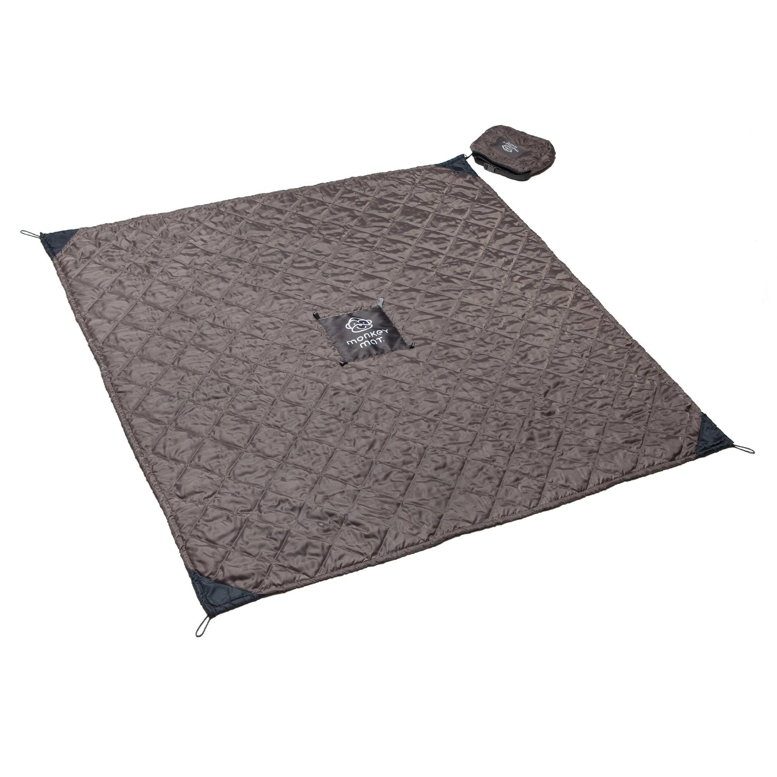 Monkey Mat: Quilted image