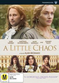 A Little Chaos DVD