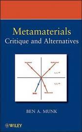 Metamaterials by Benedikt A Munk image