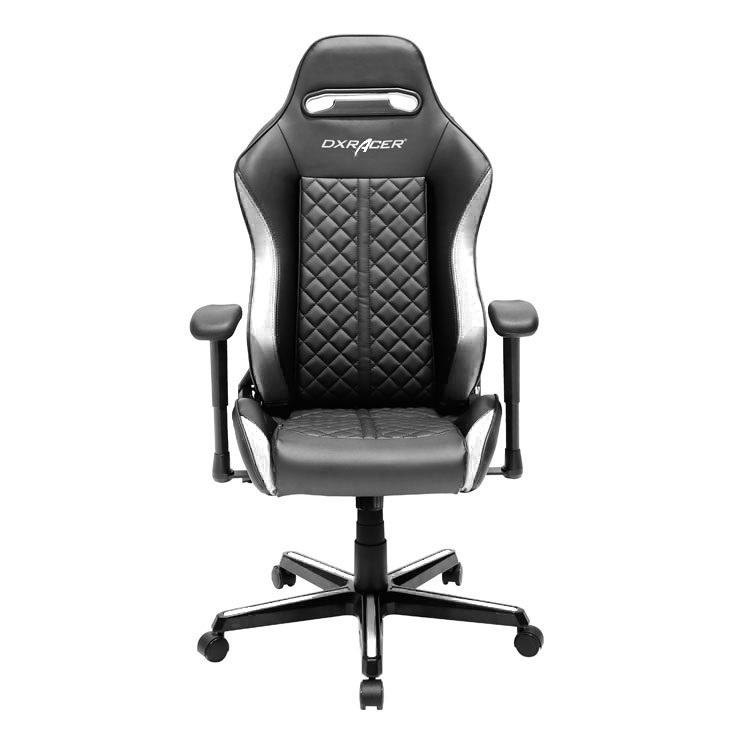 DXRacer Drifting Series DH73 Gaming Chair (Black & White) for  image
