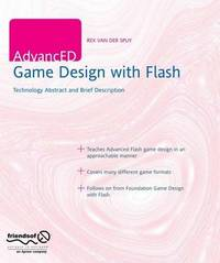 AdvancED Game Design with Flash by Rex Van Der Spuy image