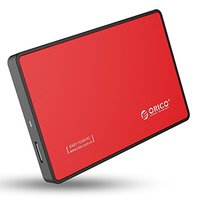 ORICO USB3.0 2.5-inch External Hard Drive Tool Free Enclosure (2588US3) RED image