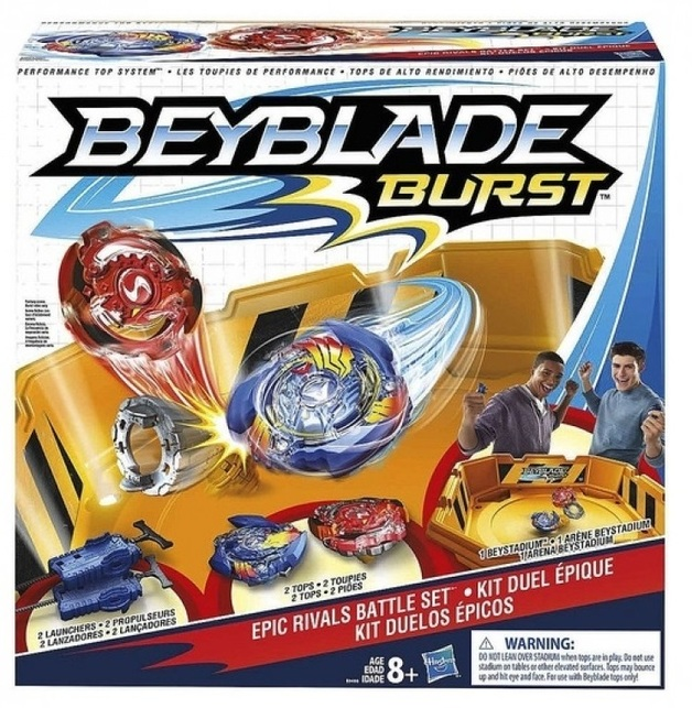 Beyblade: Burst - Epic Rivals Battle Set