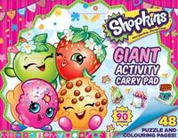 Shopkins Giant Activity Carry Pad